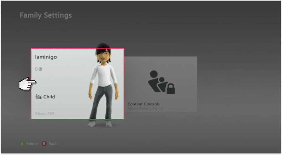 Xbox 360 Parental Controls